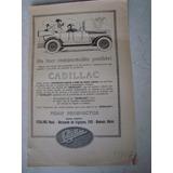 Clipping Auto Cadillac Fehling Hnos. Publicidad