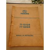 Manual Torno Nardini Tt 125 Tt 150