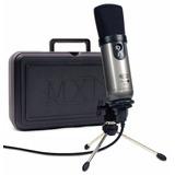 Graba En Tu Pc Kit Microfono Condensador Usb Mxl Studio 1