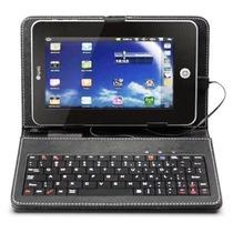 Capa Case Tablet 9 Polegadas Com Teclado Usb Apoio Protetor