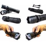 Arma Choque 28.000kv Lanterna Tática 10000w Recarregavel