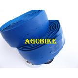 Fita Guidão Azul Speed Caloi10 Monark 10 Couro Sintetico