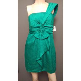 Vestido Charlotte Russe Mediano Verde Esmeralda Nuevo. 1