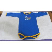 Oferta Body Bebé Boca Juniors Producto Oficial 1 Año 6 Cuota