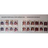Figurinhas Seleção Portugal Copa México 86 + Brinde