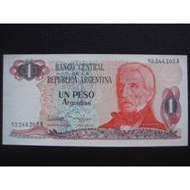 Argentina - Billete De 1 Peso Argentino, Año 1984 - S/c