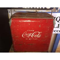 Hielera Antigua Coca Cola
