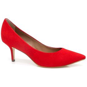 Sapato Dumond Scarpin Monocolor Couro | Zariff