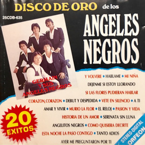 Cd Germain Y Sus Angeles Negros Disco De Oro 20 Exitos