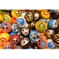 Balones Huecos De Luchadores De 1 Pulgada Para Chiclera