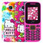 2 X $749 Telefonos Hello Kitty Camara Doble Sim Envio Gratis