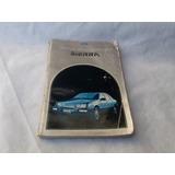 Manual De Guantera /usuario Ford Sierra Ghia