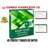 Excel 2016 Funciones Y Formulas Kid De Videos