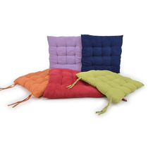 Kit 8 Almofadas Decorativa Futon Assento Para Cadeira Sofá