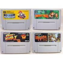 Cartuchos Originais Super Nintendo / Super Famicom