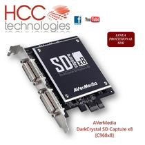 Capturadora Video Darkcrystal Sd Capture X8 Avermedia C968
