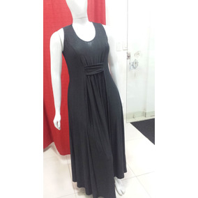 Vestido Longo Estampado Liganet Plus Size Tam.: G 44 A 50