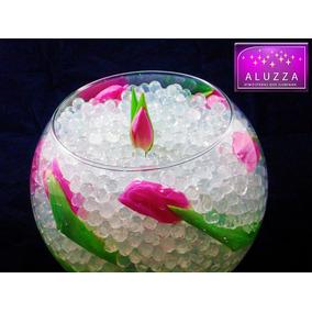 Hidrogel En Perlas Transparentes 50 Gramos Aluzza Mdn