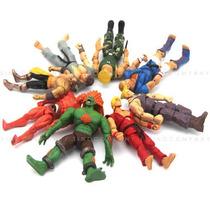 8 Bonecos Street Fighter Blanka Ken Abel Guile Ryu