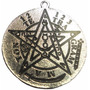 Amuleto Pentagrama Tetragramaton - 4,5 Cm - Protección