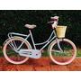 Bicicleta Retro Inglesa Sport Mujer Rod26 Varios Premium