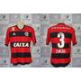 Camisa Oficial De Jogo - Flamengo - 2013 - Tam. G #3 Chicão