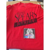 Playera + Regalo Britney Spears Femme Fatale Cd Britney Jean