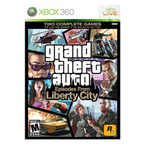 Juego Gta Episodes From Liberty City Xbox 360 Original