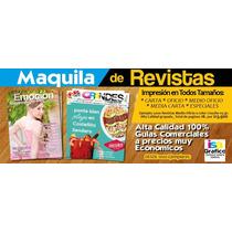 Maquila De Revistas Impresion De Revistas Guias Comerciales