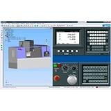 Simulador Centro Usinagem Mais 60 Cnc + 2 Horas Video Aula