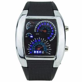 Relógio Led Tvg Velocímetro Display Binário Ajuste De Brilho