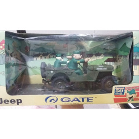 Mini Jeep Recruta Zero Beetle Bailey Escala 1/18