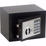 Mini Cofre Digital C/ Chave De Segurança Eletrônico Aço