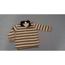 Franela Tipo Sweter Marca Zara Talla 18 A 24meses
