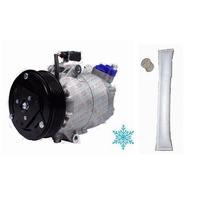 Compressor Ar Condicionado Vw Fox Crossfox Spacefox + Filtro