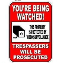 Que Le Están Mirando Sesión De Vídeo De Seguridad De Vigila
