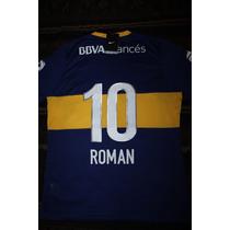 Camiseta Boca Juniors 2013 - 10 Roman