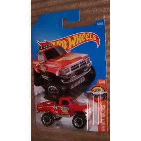 Hot Wheels 1987 Toyota Pickup Truck Camioneta Roja