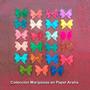 Mariposas En Papel Araña De 7x5 Cms (pqte De 23 Un)