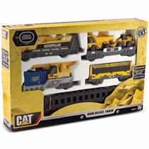 Trem Locomotiva Caterpillar - Cat - Iron Diesel Train - Dtc