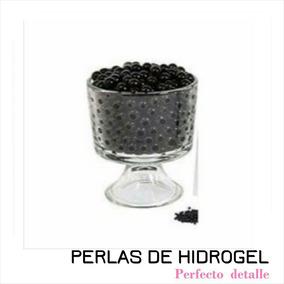Envio + 6 Sobres Negro Perla Hidrogel Decoracion Pde