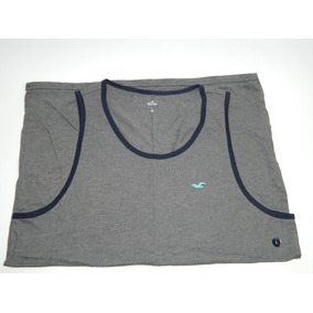 Musculosa Hollister Gris