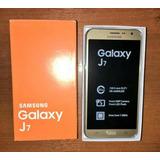 Samsung Galaxy J7 4g Lte 16gb Ram 1.5 Gb Color Dorado Stock