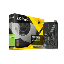 Tarjeta De Video Zotac Nvidia Gtx1060 6gb Gddr5 Hdmi Dp Dvi