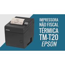 Impressora Térmica Tm- T20 - Não Fiscal - Cupom De Venda