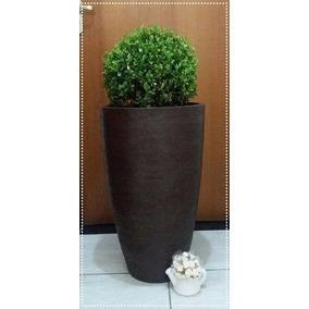 1 Vaso Plantar Plantas Polietileno Decorativos 65x40 Bg13