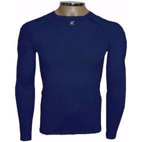Camiseta Térmica Kanxa Azul Marinho Unisex Inverno + Nf
