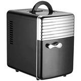 Mini Refrigerador E Aquecedor Portátil 5l - 110v/220v Ou 12v