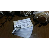 150 Convite Individual - Qualquer Arte - Casamento/eventos
