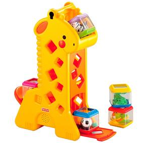 Girafa Com Blocos Fisher Price B4253